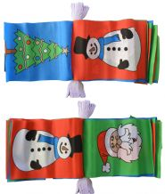CHRISTMAS XMAS BUNTING - 8 METRES 24 FLAGS